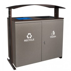 Ellipse Collection™ Large Capacity Two Stream Receptacle