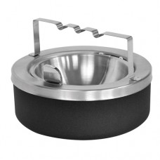 Large Capacity Flip Top Tabletop Ashtray