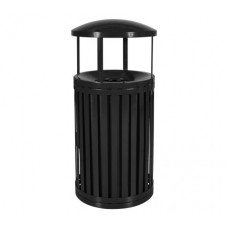 Streetscape™ South Hampton Outdoor Trash Receptacle