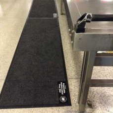 TSA and Airport Security Antimicrobial Disposable Checkpoint Runners