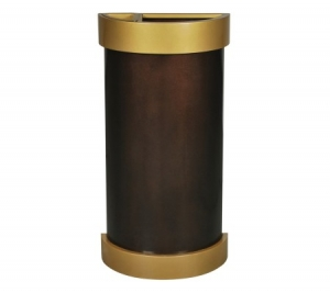 Arena Collection™ Half Round Waste Receptacle