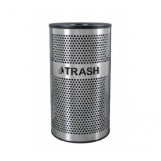 VCT-33 PERF SS Venue Collection™ Waste Receptacle