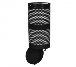 Landscape Series™ Waste Receptacle with Hinged Drop Bottom