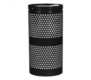 Landscape Series™ Perforated Trash Receptacle