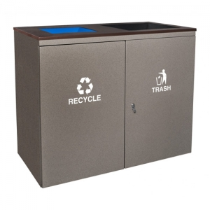 Ellipse Collection™ Indoor Two Stream Receptacle